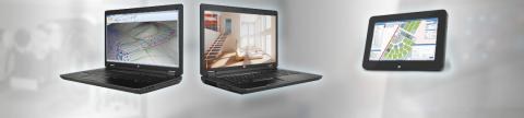 Laptops und mobile Tablet PCs - Banner