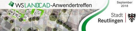 WS LANDCAD-Anwendertreffen 2018 - Banner